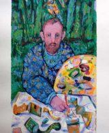 Un pittore nel bosco