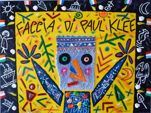Faccia di Paul Klee