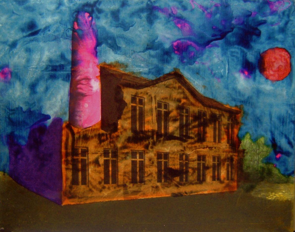 Omaggio a Magritte - schifano mario
